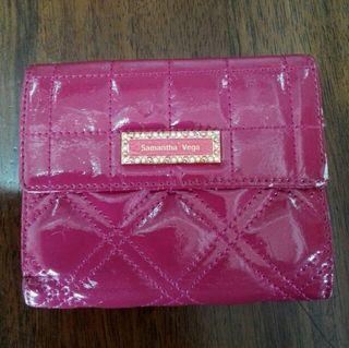 Samantha Vega 二つ折り財布 ピンク系