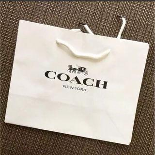 コーチ ショッパー ショップ袋