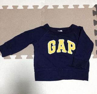baby gapトレーナー70紺色ベビー