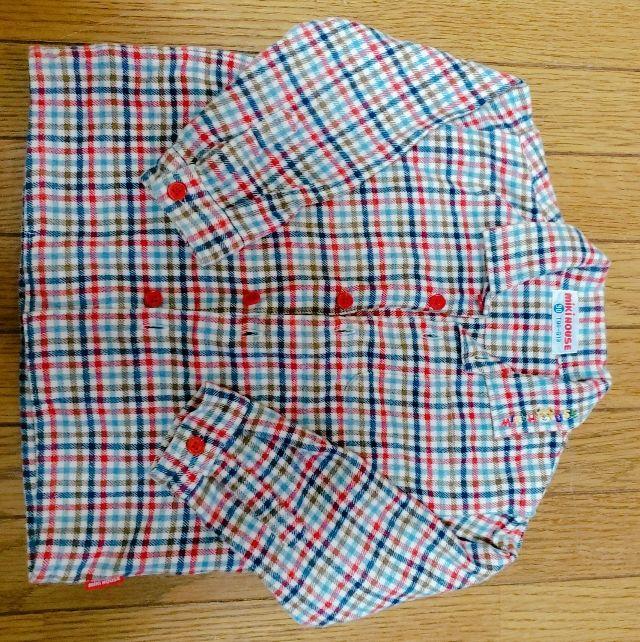 チェックシャツ(mikiHOUSE(ミキハウス) ) - フリマアプリ&サイトShoppies[ショッピーズ]