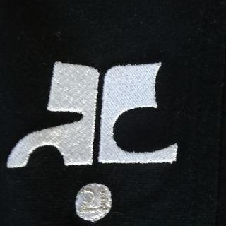 未使用courregesロゴジャケット日本製