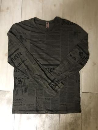 ジョンガリアーノ メンズ 長袖 ロング Tシャツ