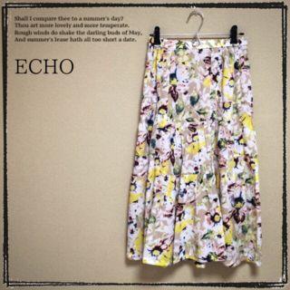 【ECHO】新品 フレアスカート