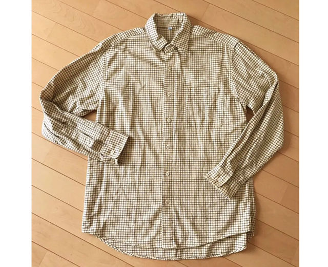 チェックシャツ(UNIQLO(ユニクロ) ) - フリマアプリ&サイトShoppies[ショッピーズ]