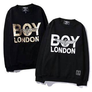 2色入BOY LONDONパーカー/C-40/多色S-XL