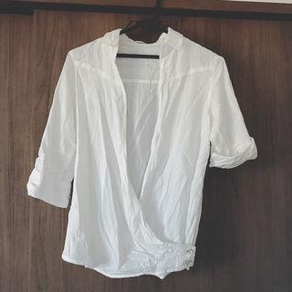 おしゃれワイシャツ Yシャツ風  ブラウス ギャルフィット