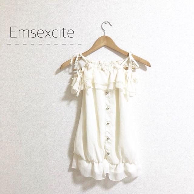 Emsexcite オフショルトップス