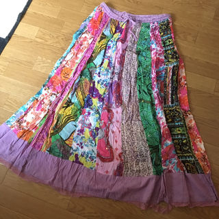 MALAIKAインド2wayスカート