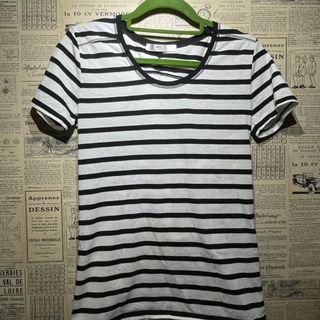 AZUL アズール ボーダーTシャツ 半袖Tシャツ トップス