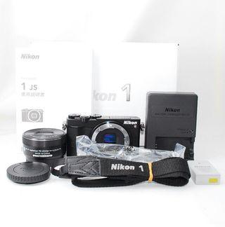 Wi-Fi&自撮り最新モデルNikon 1 J5