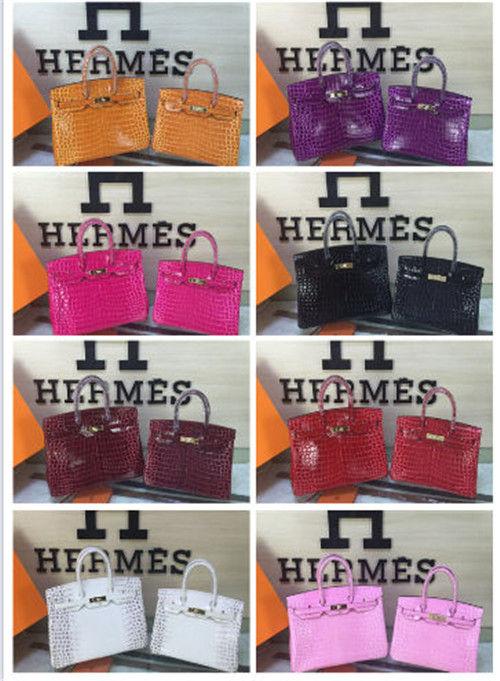 エルメス バーキン クロコ ハンドバッグ(Hermes(エルメス) ) - フリマアプリ&サイトShoppies[ショッピーズ]