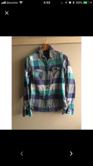 アメリカンイーグルのチェックシャツ!