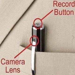 新品未使用ペン型マイクロビデオカメラ防犯、証拠収集