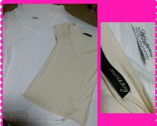 AZULbymoussy.moussyシンプルTシャツセット