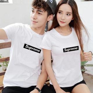 二着4600 高質新品シュプリームTシャツ 男女兼用8色