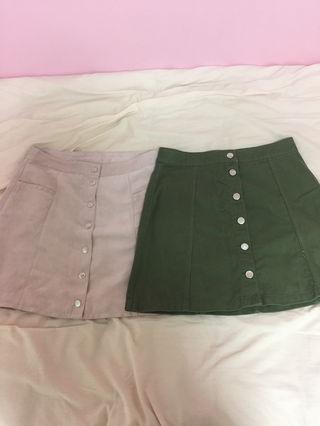 新品H&Mタイトスカート2点セット