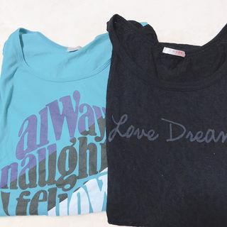 honeys ノーブランド Tシャツ2枚セット