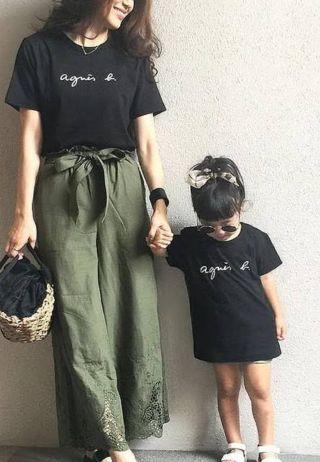 アニエスベー Tシャツ キッズ国内発送