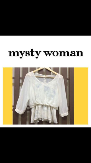 mystywoman ブラウス