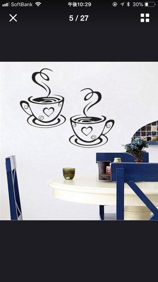 コーヒーウォールステッカー