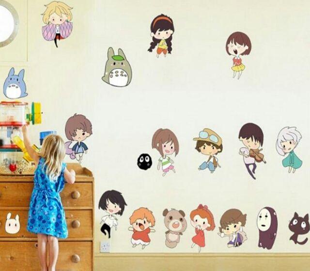 たくさんの可愛いらしいキャラクターが集まった壁紙シール - フリマアプリ&サイトShoppies[ショッピーズ]