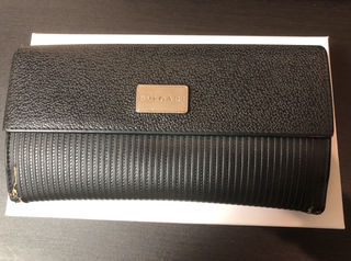 ブルガリ フラップ長財布