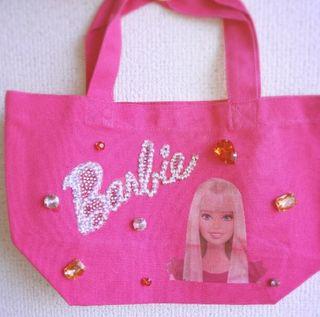 ハンドメイド ランチバッグ Barbie バービー トート