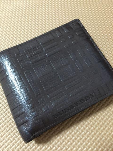 バーバリー 二つ折り財布 カード収納 11ポケット