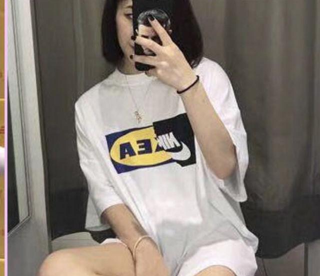 ロゴリメイク半袖Tシャツ