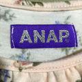 ANAP  花柄 デザインミニワンピース