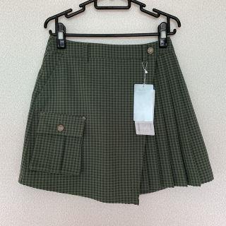 【新品】Munsing wear 巻きスカート