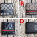 グッチ 紳士美品 可愛い美品 男女兼用 2つ折短財布