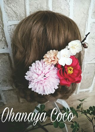 春うらら 髪飾り4点Set No169