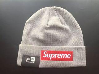 Supreme X New Era ニット帽子