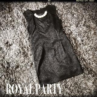 ROYAL PARTY パール付きドレス