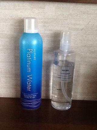 無印良品  アリビュア  ウォーター化粧水