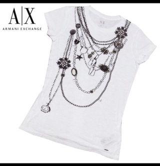 A/X最新作ネックレスモチーフTシャツ