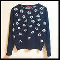 【可愛い!!】花柄セーター
