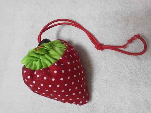 苺エコバックいちご赤イチゴ新品オレンジ(ノーブランド ) - フリマアプリ&サイトShoppies[ショッピーズ]