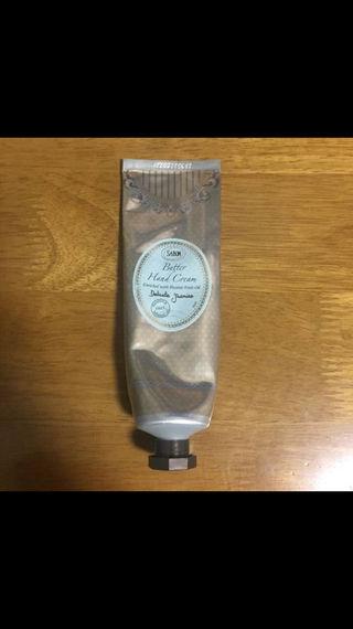 サボン バターハンドクリーム デリケートジャスミン 75ml