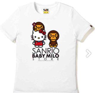 ベイビーマイロくん×キティちゃんコラボTシャツ