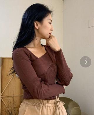 Neuna完売色ラッピングニット新品