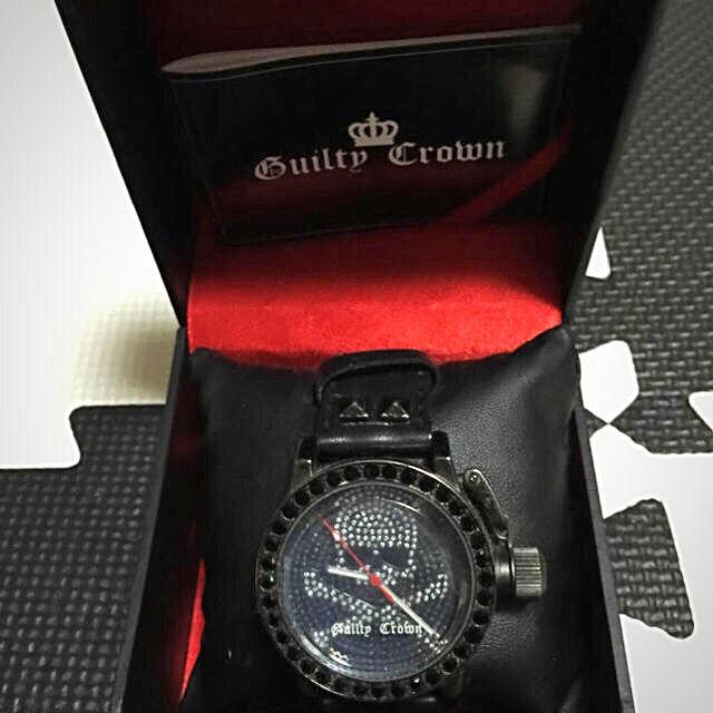 美品Gullty Crown 腕時計