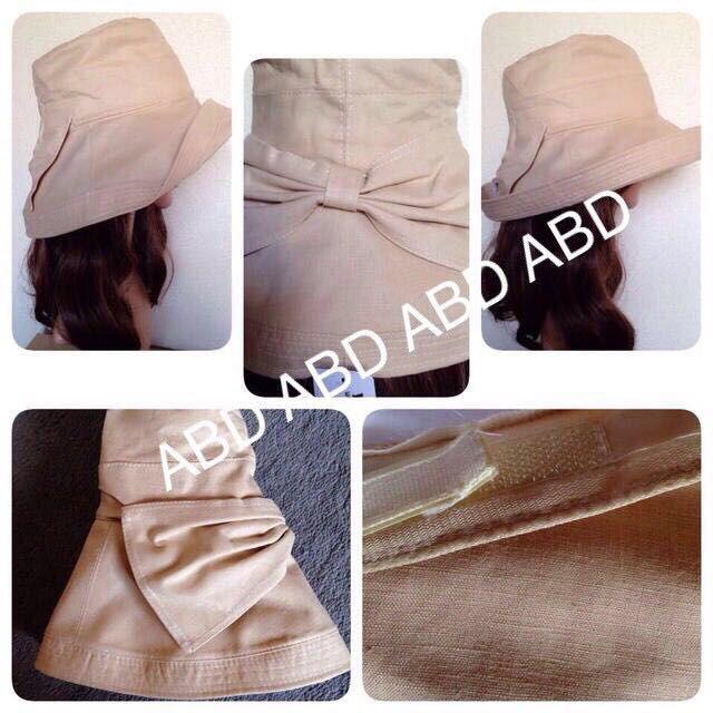紫外線対策 小顔&UVケア帽子
