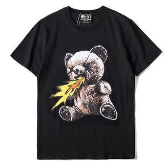 送料無料 moschinoモスキーノ2018新品Tシャツ