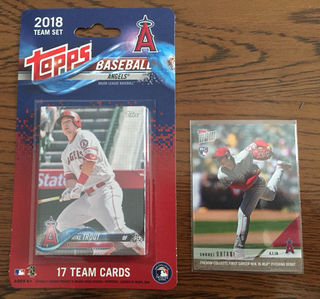 topps BASEBALL ANGELS 大谷翔平