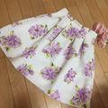 MERCURYDUO花柄スカート