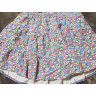Swanky レトロ花柄スカート