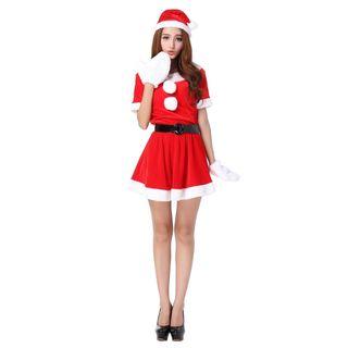 76e0a723b0082 クリスマス サンタ コスプレ プレミアム 4点セット. クリスマス サンタ コスプレ プレミアム 4点セット. 2