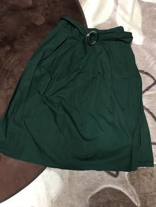 緑*スカート